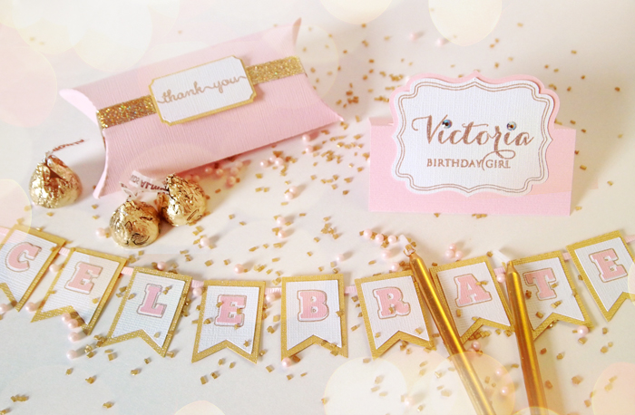 Pink Gold Birthday Freebies This