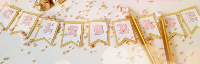 Pink Gold Birthday Freebies