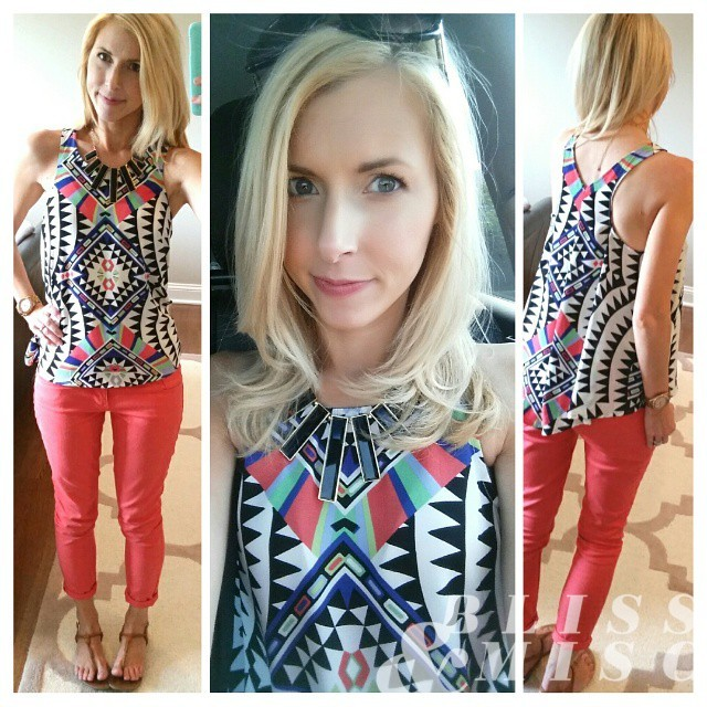 #wiwt #latergram #ooth #print #target #summerstyle #ilovecolor