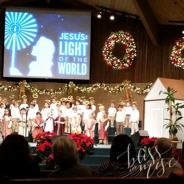 Evan's first Christmas Program #angelchoir #christmasprogram
