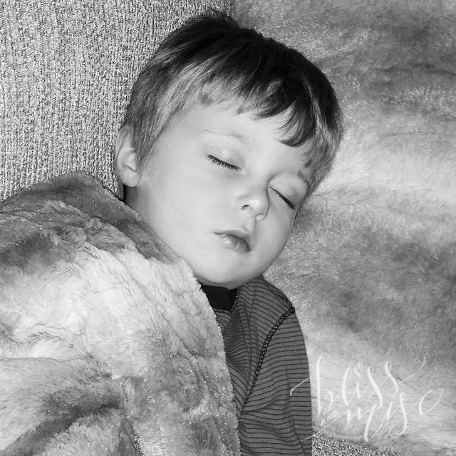 He said he wasn't tired #naptime