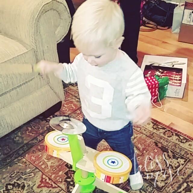 Ready to Rock #littledrummerboy #merrychristmas