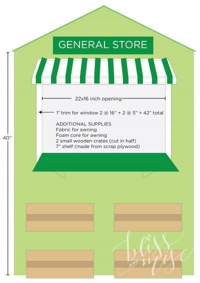 DIY General Store Market Plans