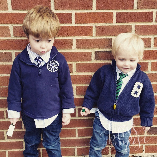 Picture day at school...E making a goofy face #ofcourse #hobbsboys #schoolpicture