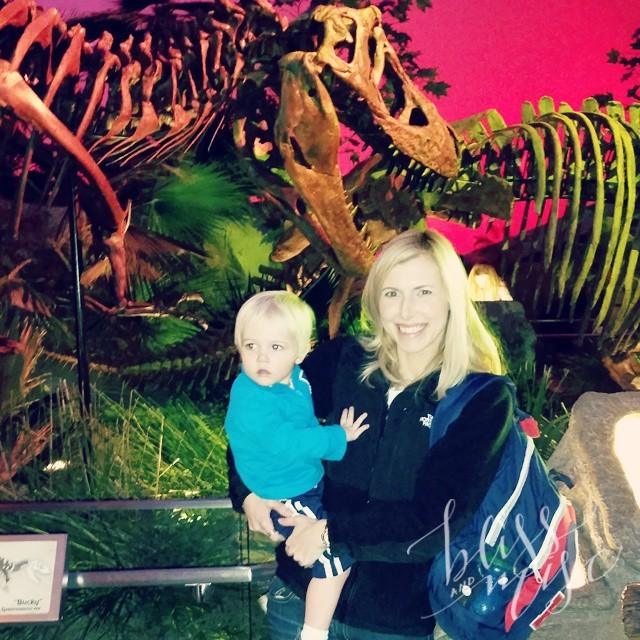 Visiting the #dinosaurs #indychildrensmuseum